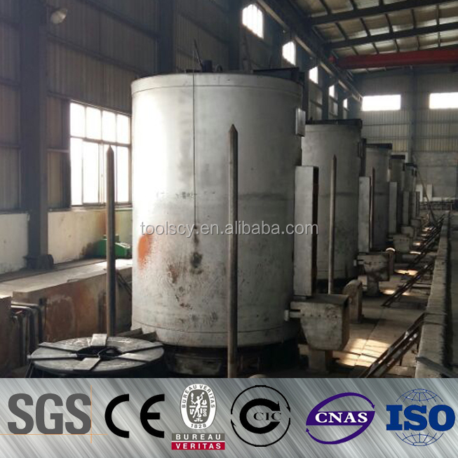 Bell type bright annealing furnace used for steel wire and coils