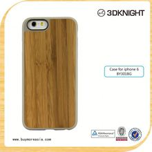 custom cell phone case wood bamboo phone shell for iPhone