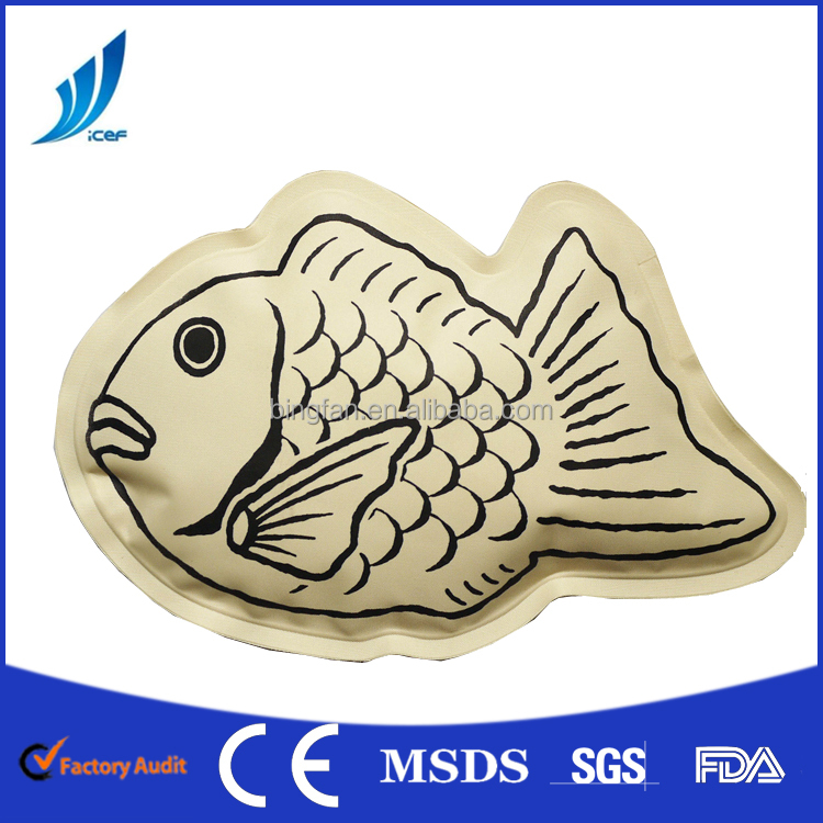 fish clay hot cold pack for cold and hot therapy