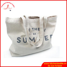 Fashion Style Organic Cotton Bag Recyclable Shopping Cotton Canvas Tote Bag