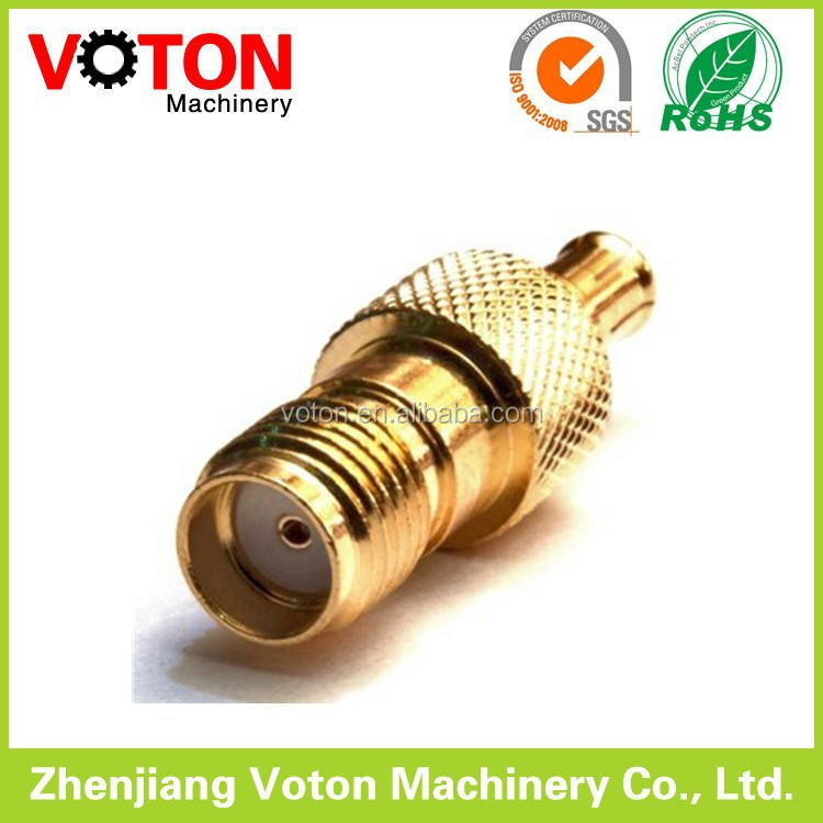 SMA Female connector MCX connector rf Adapter Gold Plated cable accessories rf connector