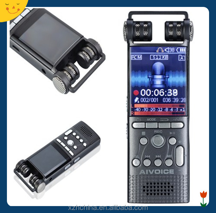 shenzhen factory offer good voice recorder,dual core,1536kbps recording,real PCM cancellation,8GB