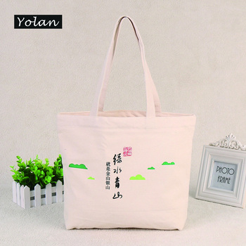 China manufacturer cheap eco friendly cotton canvas bags