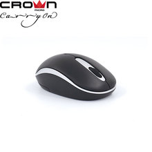 Crown 2.4G Slim Wireless Portable Optical Mouse with USB Nano Receiver Noiseless and Silent Click with 1000 DPI for PC,laptop