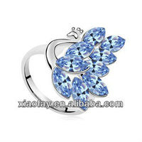 New quality product charm women's peacock rings jewellery