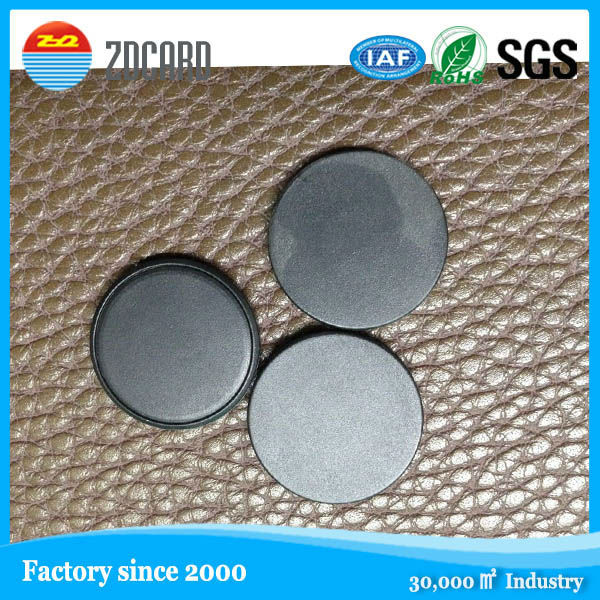 PPS 15/20/25mm RFID Laundry Tag / RFID Coin Tag / RFID Disk Tag