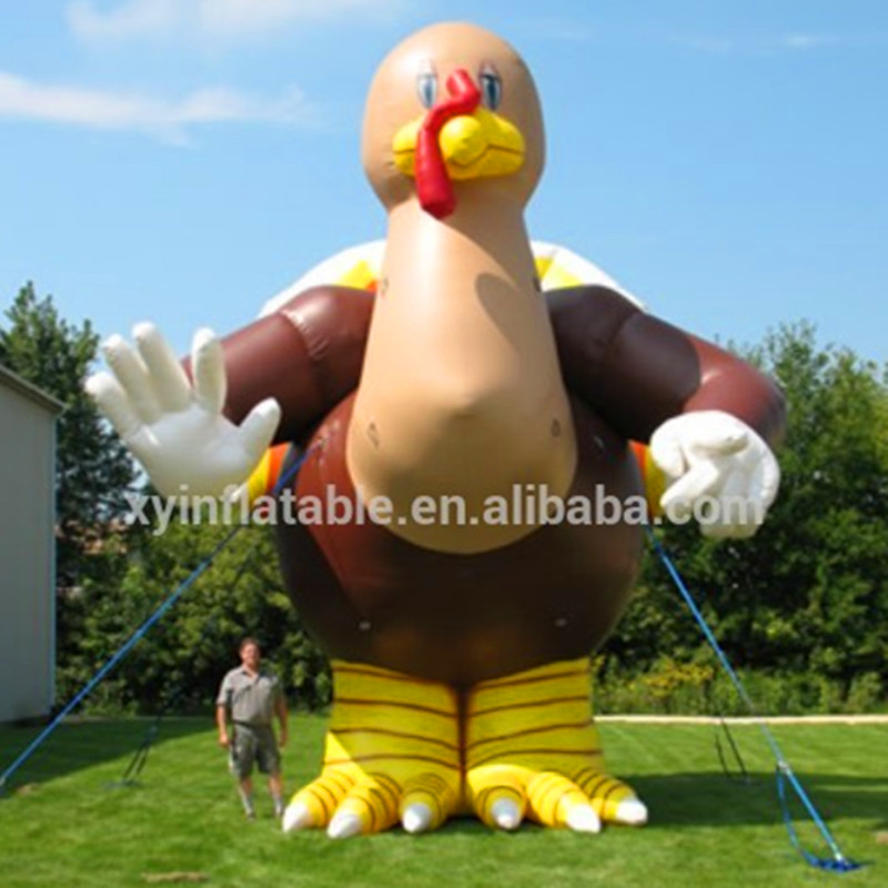 Inflatable advertising product,inflatable animal model advertisement,Custom inflatable cartoon chicken model for advertisement