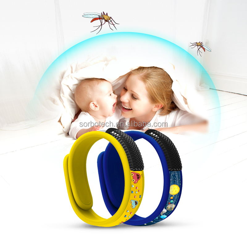 Effectively Repels Insect and Mosquitoes Mosquito Repellent Bracelet