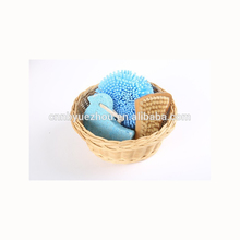 Hot Selling bathroom accessories willow basket bath set bath willow set