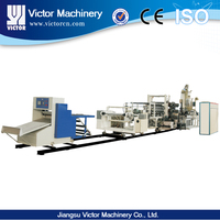 pvc/pp/pe/pet sheet extrusion line