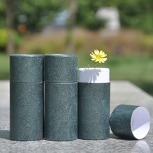 Custom small cosmetic Eco-Friendly Kraft push up paper tube Cardboard lip balm paper packagings