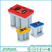 High quality 12v AGM Pure spiral battery operated electric vehicle