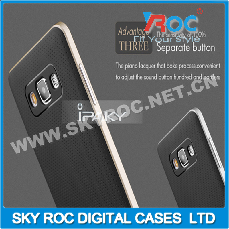 iPaky case PC bumper/TPU back cover for Samsung S4 I9500