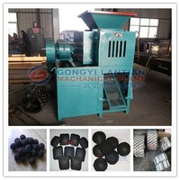 Latest design new famous brand Indonesian coal machine price, iron ore briquette press machine