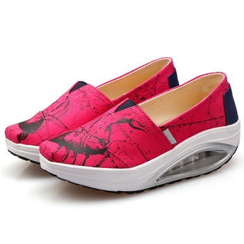 Women Casual Canvas Health Athletic Trainers sneaker