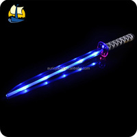 Multicolor plastic real katana sword