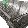 Aluminium 5 Bars Embossed Sheets For Slip-Proof Usage / Stair Treads