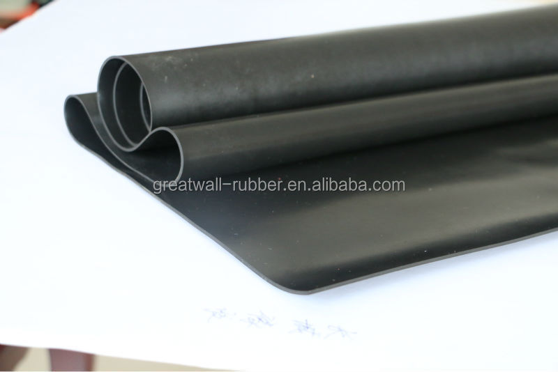 good abrasion industrial hot selling SBR rubber mat
