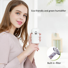 180ml Cool Mist Humidifier Ultrasonic Aroma usb Essential Oil Diffuser for Office Home Bedroom Living Room Study Yoga Spa