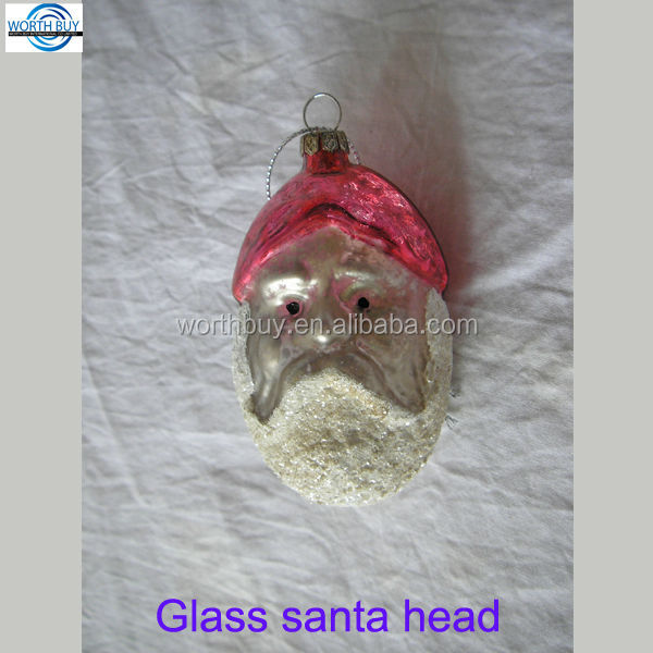 Snowman head Christmas tree ornament wholesale from China factory