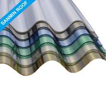 Excellent Light Transmission Clear FRP Corrugated Plastic Roofing Sheets/Fiberglass Roof Panels/Transparent Plastic Sheets