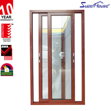 New products modern house commercial double sliding doors interior
