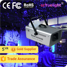 Yuelight 600w/1500w party wedding stage equipment snow making machine
