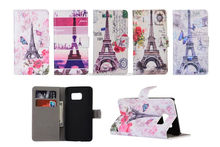 Eiffel Tower PU Leather Case for Samsung Galaxy S7 G930/S7 edge G935/S7 edge plus