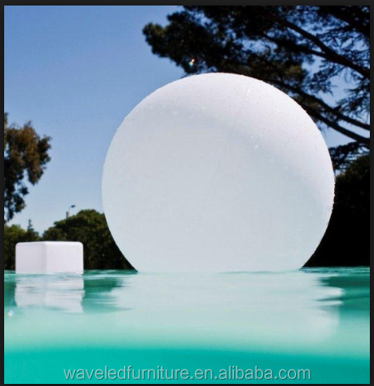 Hot selling RGB color changing Outdoor pool ball LED floating Ball Lights