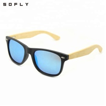 Factory Directly Provide High Quality Fashion Bamboo Sunglasses 2018