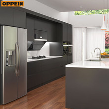 Best quality promotional E1 Environment Standard assembled modern design kitchen cabinets