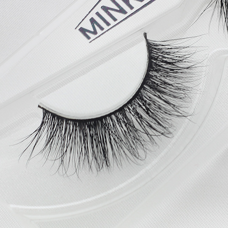 Qingdao ibeauty 100% Real 3D Mink Hair False Eyelashes 3D-6
