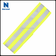 promotional high visibility safety reflective ankle band for running walking jogging cycling elastic reflective armband