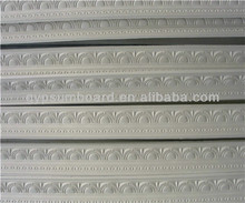 decorative plaster cornice as gypsum construction material /Pure white high strength ceiling color gypsum cornice