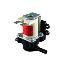 12V ac 220V DC straight type normally closed plastic 3 way solenoid valve