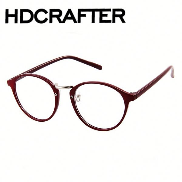 high quality Vintage Custom Round Colorful Plastic Eyeglass Frame