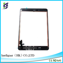 China Supply Tablet Digitizer Front Glass Touch Screen For iPad Mini With Home Button IC chip assembly