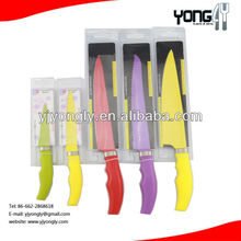 PP Handle Non-stick Color kitchen Knife