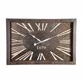 Wholesale cheap price home decorative wood metal antique wall clock