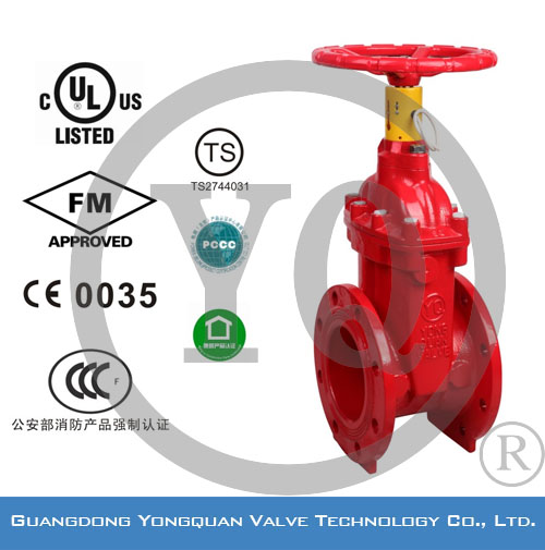 UL/FM Resilient Seated Position Indicator Gate Valve