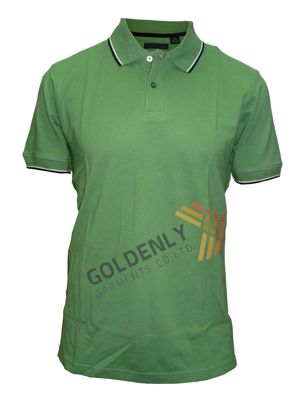 men's slim high quality solid polo t shrit made by own factory