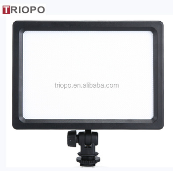 TRIOPO LED-204 photo and video LED camera light for Nikon ,Canon ,Song ,pentax,etc, studio camera light ,3200K-5500K
