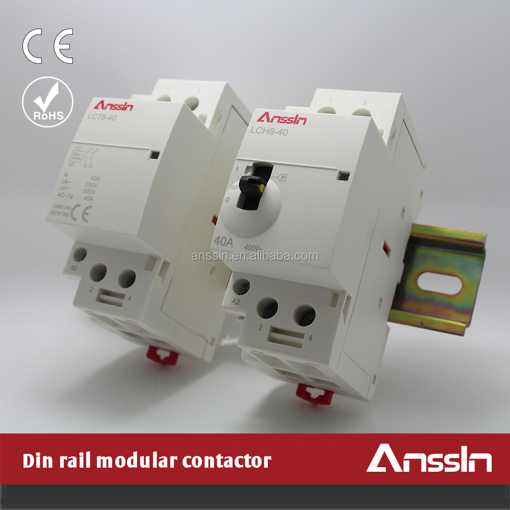 2P 4P Auto and Manual Din Rail manual contactor manual contactor suppliers and manufacturers at ls contactor wiring diagram at cos-gaming.co