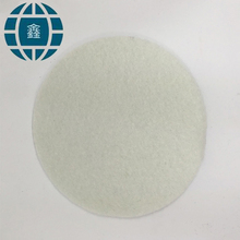 White color non-woven material polyester felt fabric non woven weed control in roll