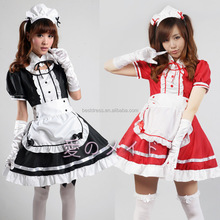 Servant Women Cosplay Black Party Halloween Lolita Fancy Dress Adult Women Sexy French Maid Costumes