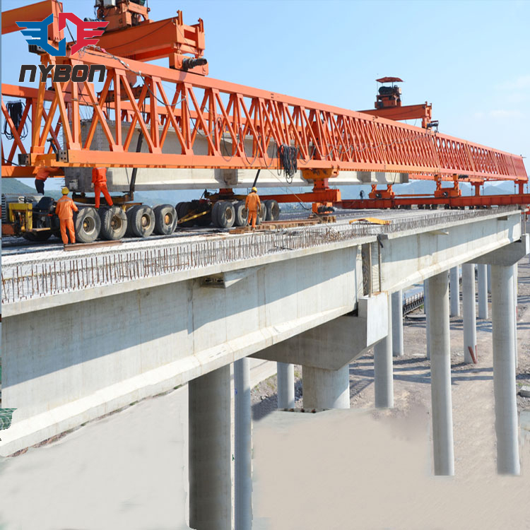 Expert design construction bridge launching girder erecting crane