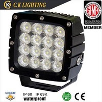 For heavy agricultural lights auto accessories led work light 80w for truck