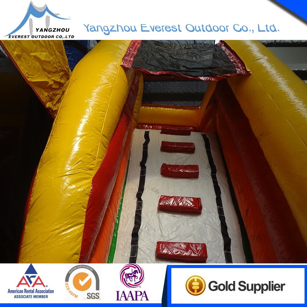 China Wholesale Custom hot sale castle combo inflatable bounce