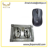High precision computer parts plastic mold,mouse cover plastic injection mould