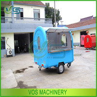 New Condition and Hamburger, potato chips, etc, hot dog, ice cream, sasuage Application mobile food cart for sale
